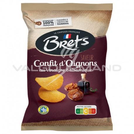Chips Brets confits d oignons balsamique 125g - 10 paquets