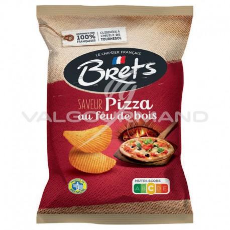 Chips Brets pizza au feu de bois 125g - 10 paquets