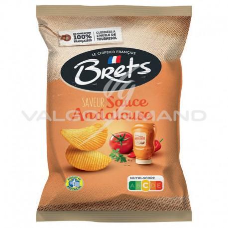 Chips Brets saveur andalouse 125g - 10 paquets
