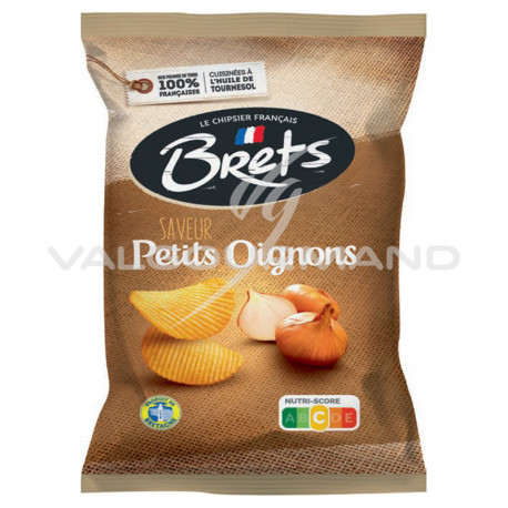 Chips Brets petits oignons 125g - 10 paquets