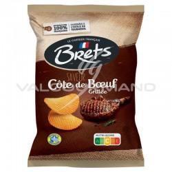 Chips Brets côte de boeuf grillée 125g - 10 paquets