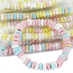 Colliers de bonbon dextrose s/cello 17g - 100 pièces