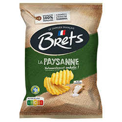Chips Brets nature paysanne 125g - 10 paquets