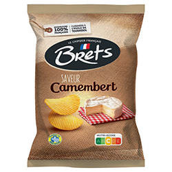 Chips Brets camembert 125g - 10 paquets
