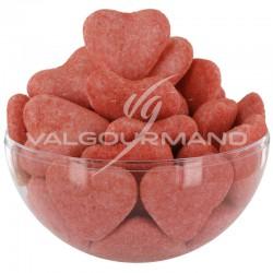 Coeurs aérés Fraise Andros - 1,5kg en stock