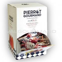 Sucettes plates assorties Pierrot Gourmand - Les 100 en stock