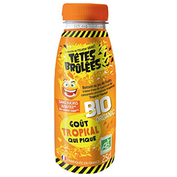 Boissons Têtes brûlées BIO Tropical Pet 25cl - 6 bouteilles en stock