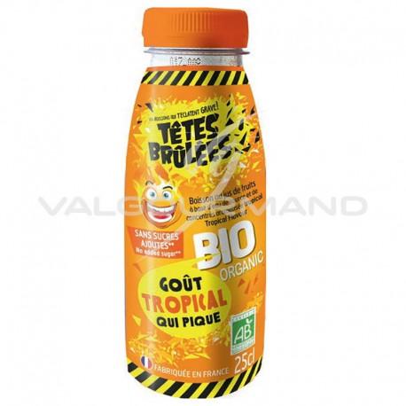 Boissons Têtes brûlées BIO Tropical Pet 25cl - 6 bouteilles