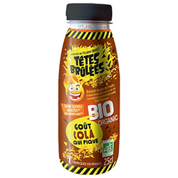 Boissons Têtes brûlées BIO Cola Pet 25cl - 6 bouteilles en stock