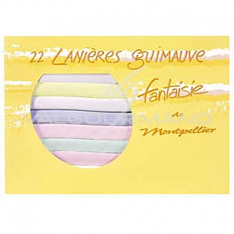 Guimauves colorées Auzier - 22 lanières