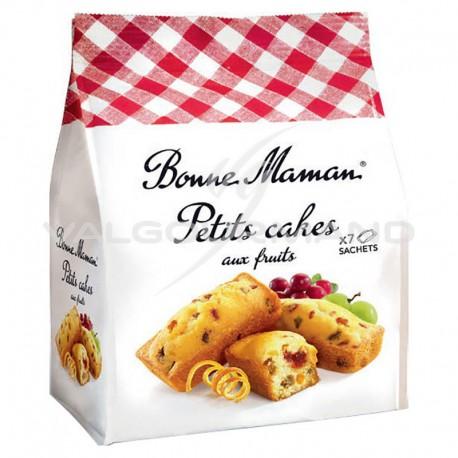 Petits cakes aux fruits Bonne Maman 300g - 8 paquets