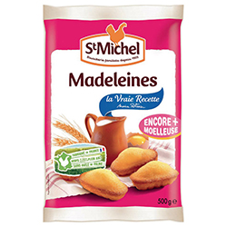 Madeleines coquilles St Michel 500g - 12 paquets en stock