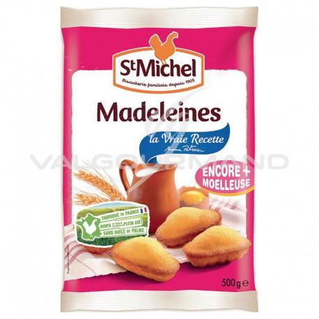 Madeleines coquilles St Michel 500g - 12 paquets