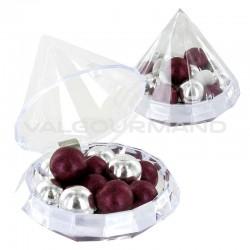 Boîte Diamant transparente GM - pièce
