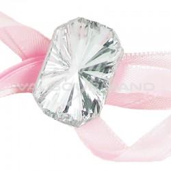 Bijoux façon Diamant taillé autocollants - 6 pièces en stock