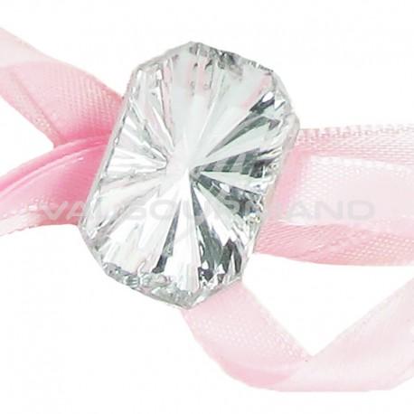 Bijoux façon Diamant taillé autocollants - 6 pièces