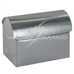 Coffres Luxe ARGENT métallisé - 10 pièces