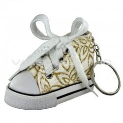 Basket porte-clefs Arabesques OR - pièce
