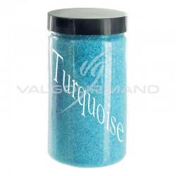 Sable déco TURQUOISE - 500g