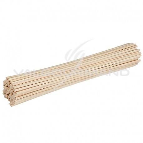Bâtonnets en bois naturel 15cm - sachet de 80