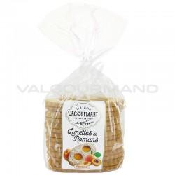 Sablés pâtissiers abricot (lunettes fourrées) 350g - 8 paquets