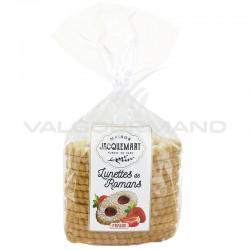 Sablés pâtissiers fraise (lunettes fourrées) 350g - 8 paquets