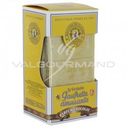 Gaufrettes amusantes Eugène Blond Chocolat 175g - 12 étuis en stock