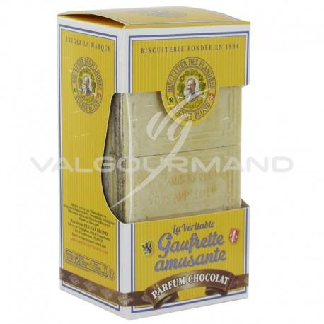 Gaufrettes amusantes Eugène Blond Chocolat 175g - 12 étuis