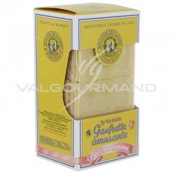 Gaufrettes amusantes Eugène Blond Framboise 175g - 12 étuis en stock