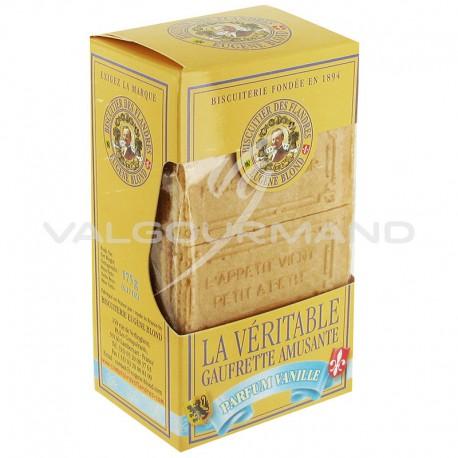 Gaufrettes amusantes Eugéne Blond Vanille 175g - 12 étuis