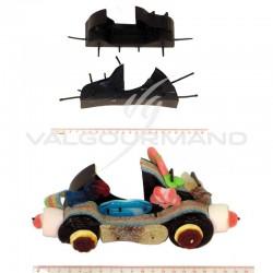 Supports Cabriolet et sachets transparents - 30 pièces