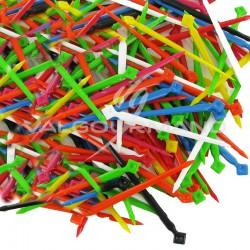 Pics en plastique GM (7,5cm) pour polyst. COULEUR par 1000