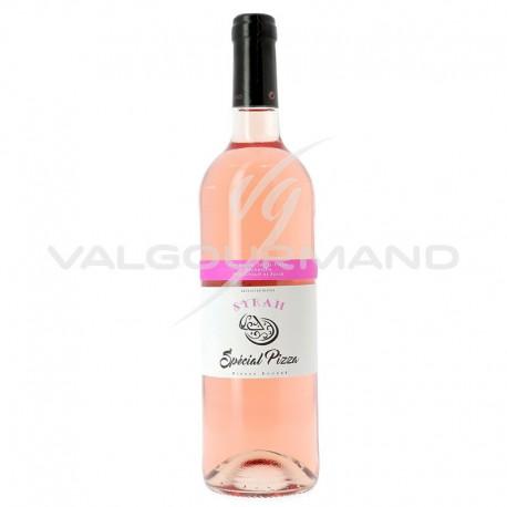Vin de France Syrah rosé Spécial Pizza 75cl - 6 bouteilles (soit 5.14€ la bouteille !)