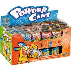 Powder cans canettes remplies de poudre