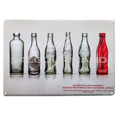 Plaque en métal Vintage coca cola - pièce