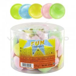 Cachets poudre Soucoupes - tubo de 100 en stock