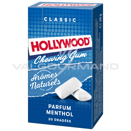 Hollywood dragées menthol - 20 étuis