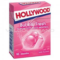 Hollywood dragées bubble fresh SANS SUCRES - 20 étuis