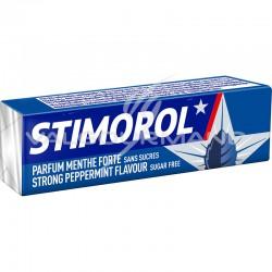 Stimorol menthe forte SANS SUCRES 14g - 30 étuis
