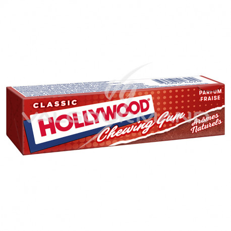 Hollywood tablettes fraise - 20 paquets