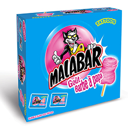 Malabar barbe à papa - boîte de 200