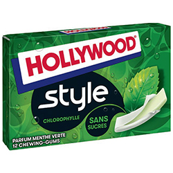 Hollywood Style chlorophylle SANS SUCRES - 18 étuis en stock