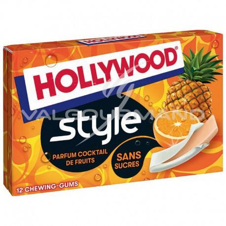 Hollywood Style cocktail de fruits SANS SUCRES - 18 étuis
