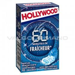 Hollywood 60 minutes de Fraîcheur menthe forte SANS SUCRES - 16 étuis