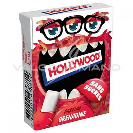 Hollywood dragées kids grenadine SANS SUCRES - 20 étuis