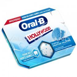 Hollywood Oral-B menthe fraiche - 12 étuis