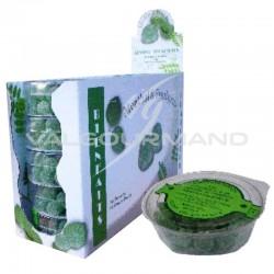 Gommes vertes menthol eucalyptus 60g - les 12 boîtes
