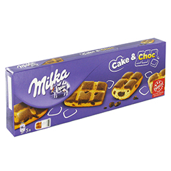 Cake and choc Milka 175g - 16 paquets