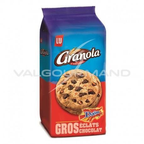 Cookies extra chocolat et caramel Daim Granola 184g - 10 paquets