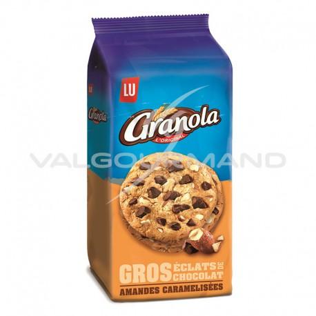 Cookies extra amandes caramélisées Granola 184g - 10 paquets